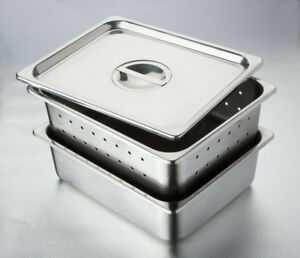 Stainless Steel Instrument Tray No Cover 12 1 2 X 10 1 4 X 2 1 2