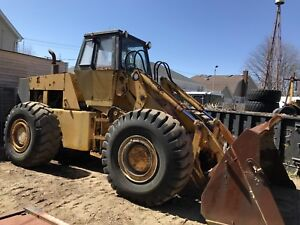 1990 Case W36 Wheel Loader Payloader 113 w Bucket