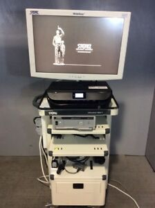 Storz Officekart 9803 T Endoscopy Tower W storz Sc wu26 a1515 26 Monitor