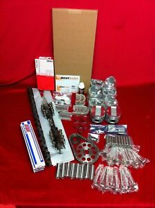 Desoto 330 Hemi Deluxe Engine Kit 1956 Firedome Pistons Gaskets Valves No Cam