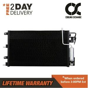 3672 New Condenser Fits Ford Focus Automatic Transmission 2008 2009 2010 2011