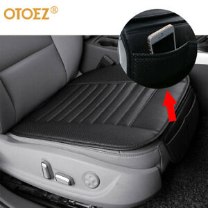 Car Pu Leather Seat Cover Breathable Pad Mat Front Seat Protector Chair Cushion
