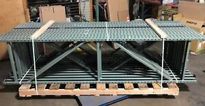 Interlake Pallet Rack Uprights 120 h X 30 d X 3 W 13 Total