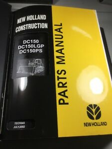 New Holland Dc150 Dc150lgp Dc150ps Dozers Parts Catalog Manual