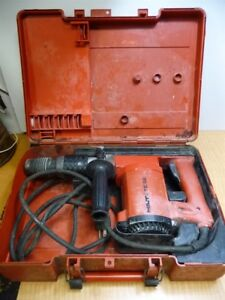 Hilti Te22 Corded Electric Rotary Hammer Drill In Case