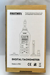 Protmex Digital Tachometer Ms6208a Contact Measurement Speed Tach Meter 50 1