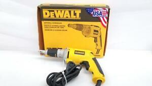 Dewalt Dw272 Corded Drywall Screw Gun In Original Box ml1025944