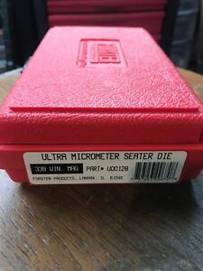 Forster Ultra Micrometer Seat Die 338 Winchester Magnum Win Mag Reloading Die
