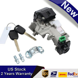 For 2003 04 05 06 07 Honda Accord Ignition Switch Cylinder Lock W Key Precision