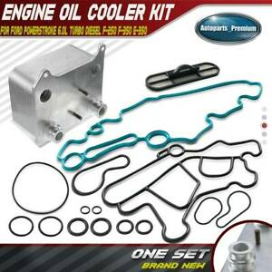Engine Oil Cooler Kit For Ford E 350 F 350 F 450 F 550 Super Duty 3 6l 904 228