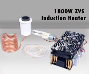 1800w Zvs Induction Heater Induction Heating Pcb Board High Frequency Heating Ma
