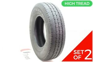 Set Of 2 Driven Once 235 75r16 Goodyear Wrangler St 106s 11 5 32