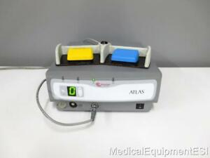 2005 Atlas Arthrocare Electrothermal System Controller 11000 With Footswitch