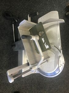 Bizerba Se 12 Se12 Heavy Duty Manual Food Meat Cheese Deli Slicer Works Great