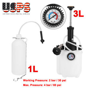 Power Brake Bleeder With Adapter For Universal European Models