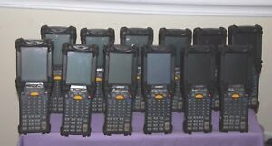 Lot Of 12 Motorola Symbol Mc9060 Handheld Barcode Scanners Good Condition