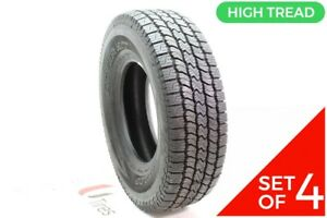 Set Of 4 New Lt 265 75r16 Dunlop Rover H t 123 120r 14 32
