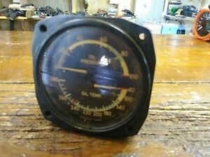 U s Oil Pressure Gauge 16264 Aircraft Rat Rod