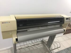 Hp Designjet 750c Plus Large Format Color Plotter