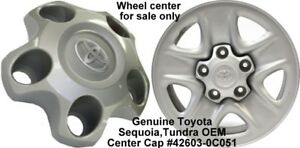New Genuine Toyota Tundra 2007 2017 Hubcap 18 5 Spoke Wheel Center Cap Sequoia