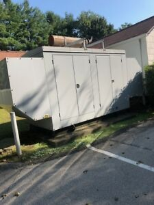 137 Kw Detroit Diesel Generator Natural Gas Low Hours
