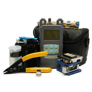 Fiber Optic Ftth Tool Kit With Fc 6s Fiber Cleaver Optical Power Meter In Us