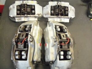 2008 Porsche Cayenne Brembo Brake Calipers Set 6 Piston Front 4 Piston Rear