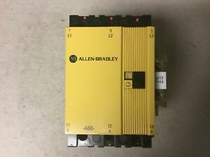 Allen Bradley 100 a60n 3 Motor Starter With 120 Volt Coil And 195 ga10 Aux Cont