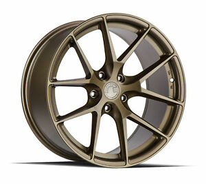 19x9 5 Aodhan Ls007 5x120 35 Bronze Rims New Set