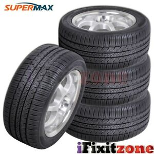 4 New Supermax Tm 1 215 55r17 94v Performance Tires