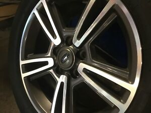 4 Set Ford Mustang Aluminum Wheels And Tires