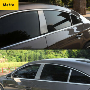 Ss Car Window Pillar Plate Cover Trim Sticker For Vw Cc 2013 2017 Accessories