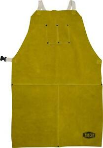 Leather Welding Apron Pockets Protective Gear Soldering Workwear Safety Aprons