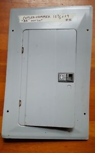 C h Cutler Hammer Br Type Electrical Panel Cover Circuit Breaker Box Cover