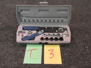 Spec Tools Squeeze Wrench 14pc Standard 9 16 Metric 14mm Ratchet Case New