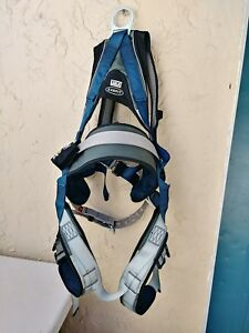 Dbi Sala Exofit 1108502 Large Safety Harness padded Back side D Rings 310lbs L