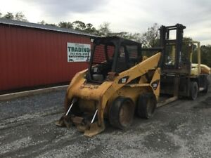 2011 Caterpillar 252b2 Skid Steer Loader Machine Runs Wont Move