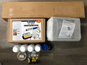 Eastwood 11676 Dual voltage Powder Coating System W Infrared Cure Kit new