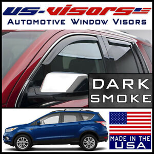Us Visors 2013 2019 Ford Escape In Channel Window Vent Visors Rain Guards