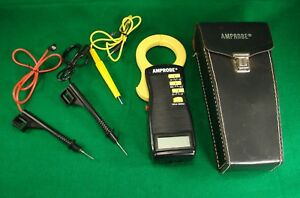 Very Nice Amprobe Usa Acdc 1000a Digital Clamp On Volt Ohmmeter Multimeter