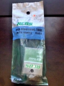 RCBS 09350 VLD Deburring Tool with Handle  New