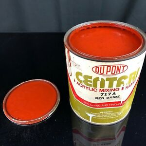 Dupont Centari Mixing Tint Acrylic Enamel Auto Paint Red Oxide 717a Gallon