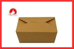 Take Out Package Carton Food Container Inno box Kraft 6 X 4 75 X 2 5 130pcs