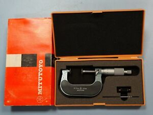 Mitutoyo 123 102 Disc Micrometer 25 50mm metric