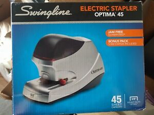 Swing Line Optima 45 Electric Stapler 45 sheet Capacity Silver