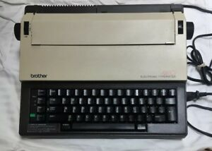 Brother Ax 10 Vintage Electronic Electric Typewriter W correction Tested