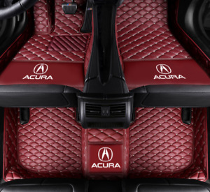 Luxury Custom Car Floor Mats For Acura Tl Ilx Mdx Rdx Rlx Tlx Tsx 2004 2020