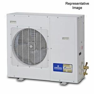 Emerson Climate Xjal 050z cfv 022 5 Hp Refrigeration Condensing Unit 208 230 1
