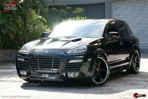 2007 2010 Cayenne 957 S 4s Ta Style Full Wide Bodykit Bumpers Skirts Flares