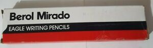 Vintage Berol Mirado 174-3 Medium Hard Lead EAGLE Writing Pencils full box 12 pc